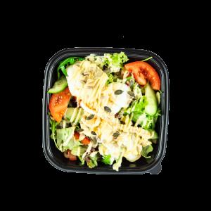 Vegetarische salade menu