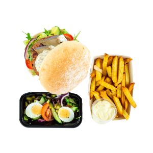 Fransman Burger Menu