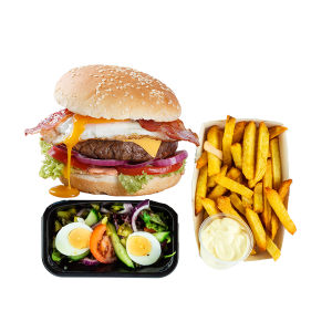 Special Burger Menu